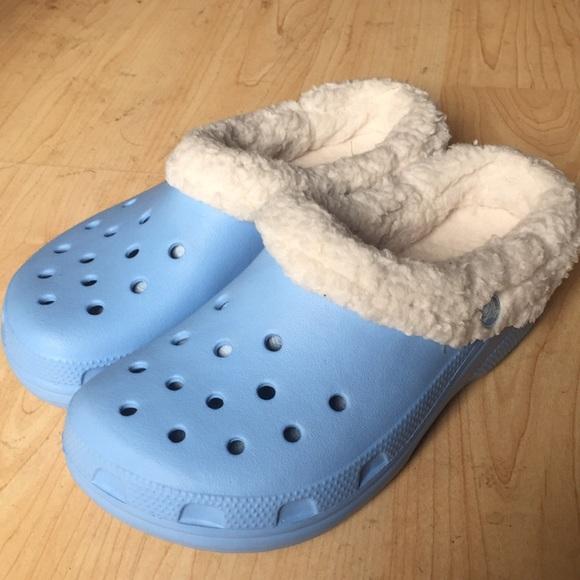 CROCS Shoes | Nwot Fleece Lined Baby